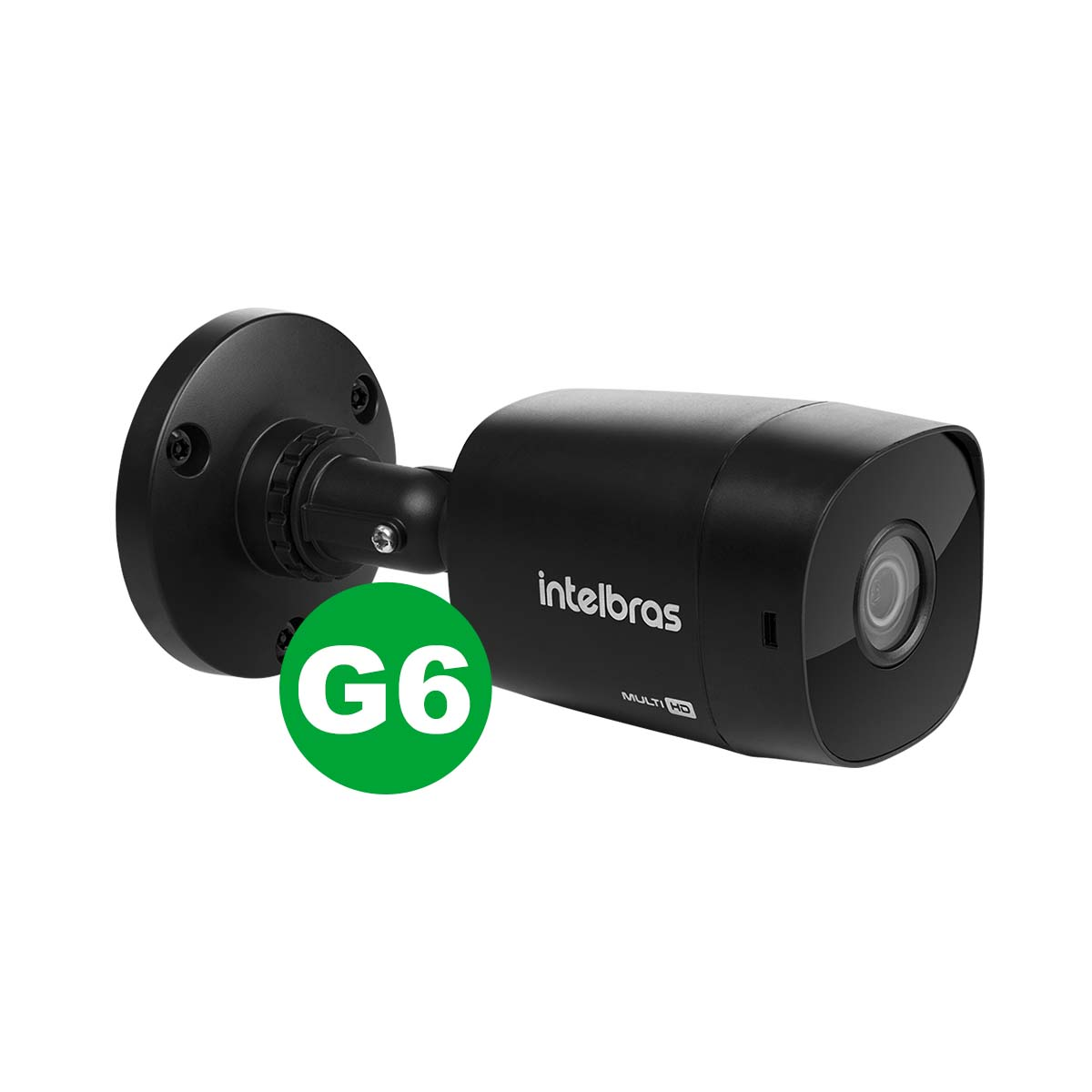 Kit Câmera Intelbras Vhd 1220 Black G6 3,6mm + Acessórios