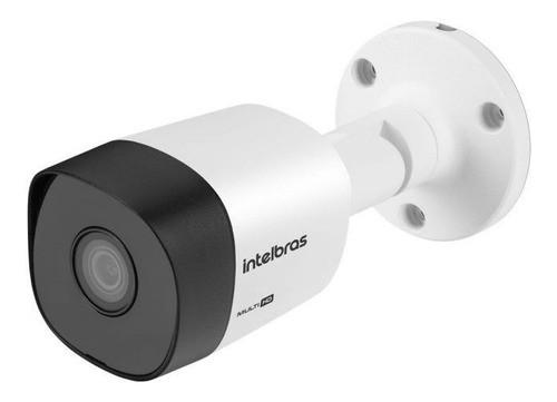 Kit CFTV 04 câmeras VHD 3130 B G6 + DVR 1104 S/ HD + Acessórios