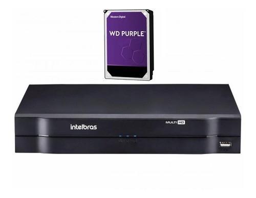 Kit CFTV 08 câmeras VHD 3130 B G6 + DVR 1108 C/ HD 3TB + Acessórios