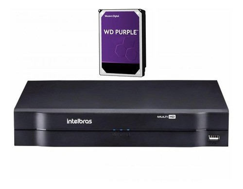 Kit CFTV 16 câmeras VHD 3130 B G6 + DVR 1116 C/ HD 1TB + Acessórios