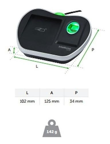 *LEITOR CADASTRADOR BIOMETRICO INTELBRAS COM RFID CM 350