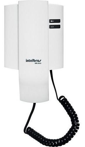 MONOFONE INTELBRAS INTERNO PARA PORTEIRO RESIDENCIAL IPR 8010IN E IPR8000