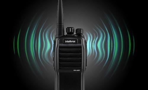 RADIO COMUNICADOR INTELBRAS PROFISSIONAL ANALOGICO RPA 6001