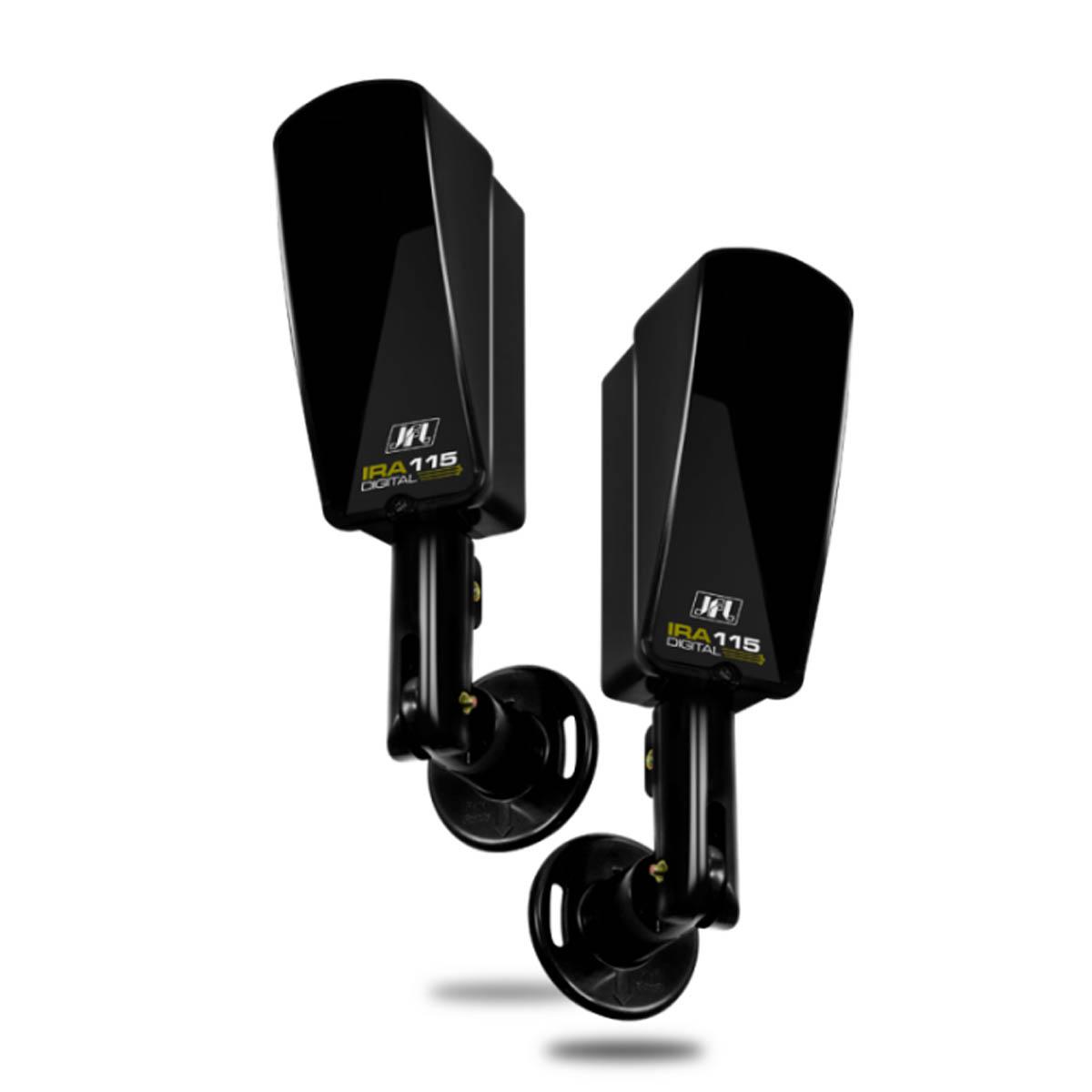 Sensor De Barreira JFL Feixe Simples 30MTS Com Suporte IRA-115 DIG V2