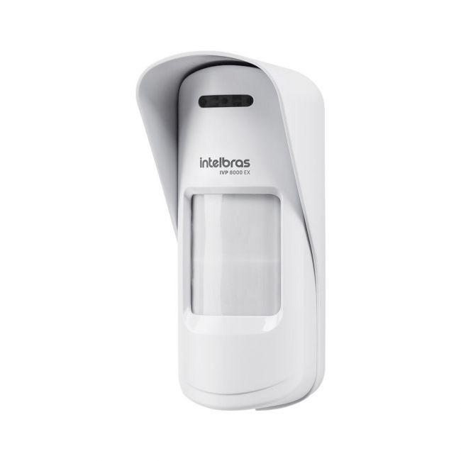 Sensor de movimento infravermelho passivo sem fio Intelbras IVP 8000 EX