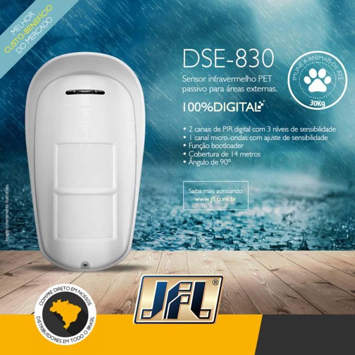*Sensor Infravermelho Externo JFL DSE-830 V3