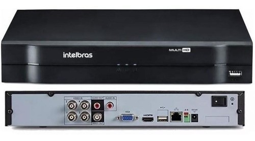 STAND ALONE INTELBRAS DVR 04 CANAIS MHDX 1104 C/ HD 2TB
