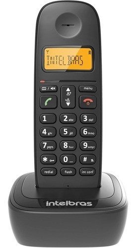 TELEFONE SEM FIO INTELBRAS TS 2511 RAMAL PRETO