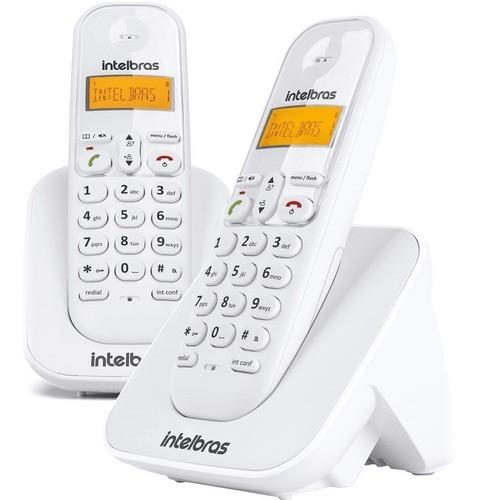 TELEFONE SEM FIO INTELBRAS TS 3112 BRANCO