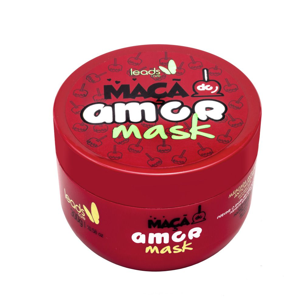 Máscara Anti-Age Antioxidante Maçã do Amor Mask Leads Care