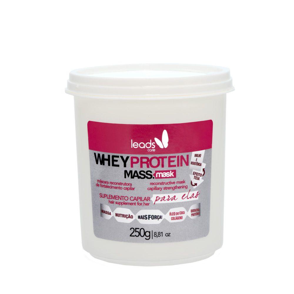 Máscara de Reconstrução Whey Protein Suplemento Capilar para Elas 250g