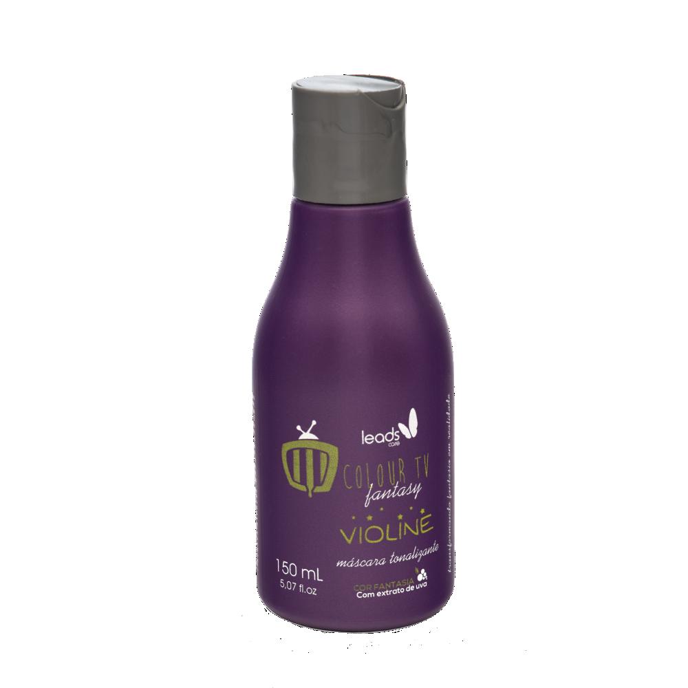 Máscara Colour TV Violine Tonalizante Hidratante para cabelos com tons de violeta
