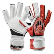 LUVA HO SOCCER ONE NEGATIVE INTENSE RED
