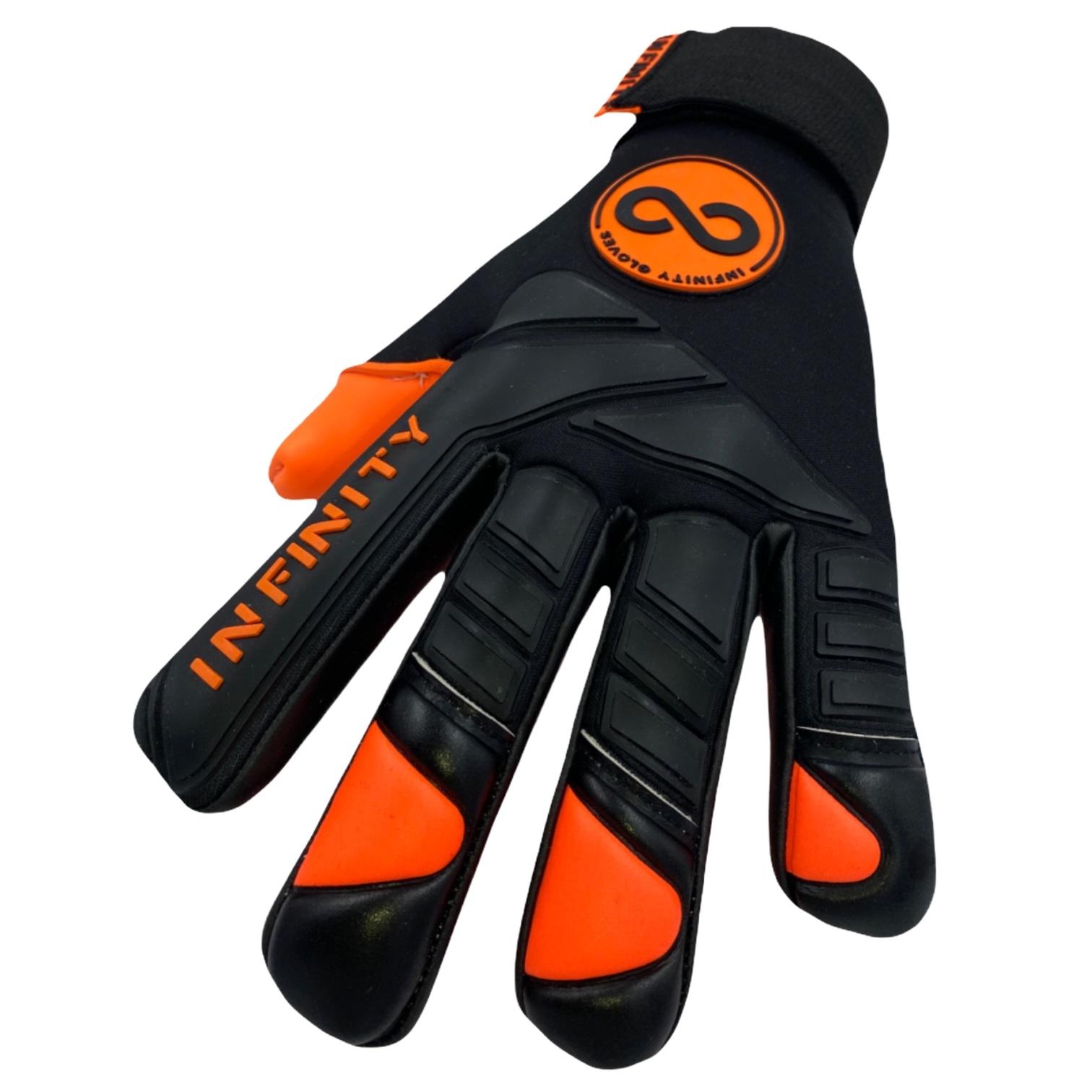 Luva de Goleiro Profissional Infinity Delta Orange