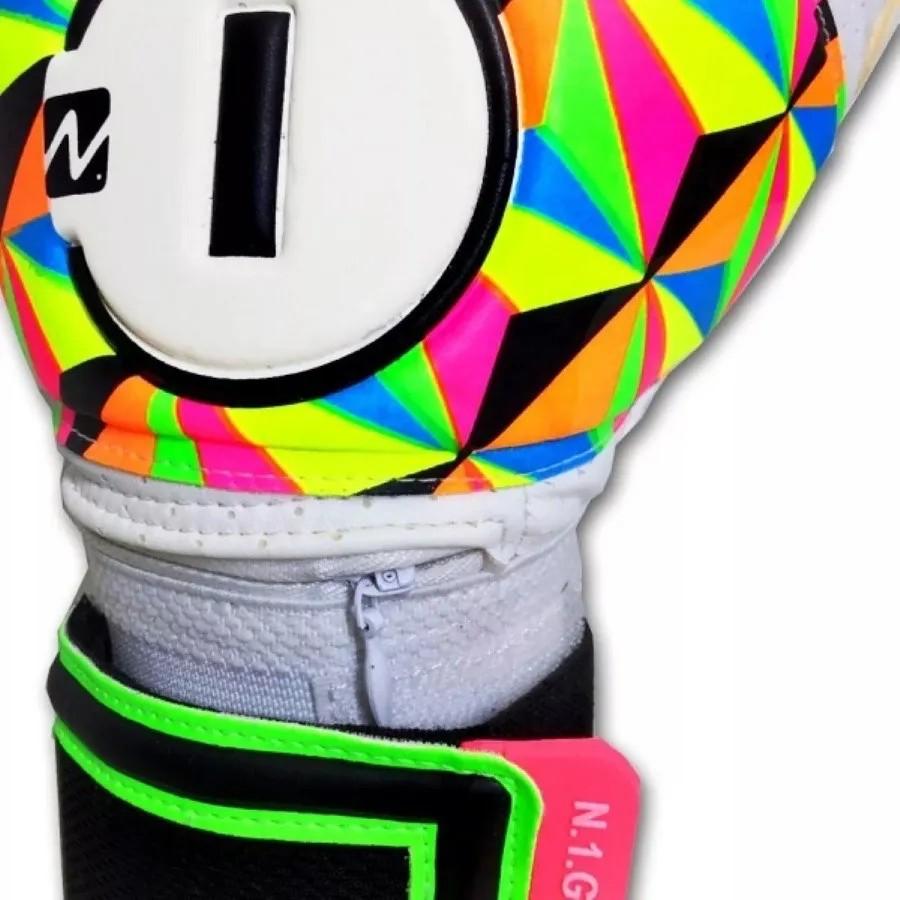Luva de Goleiro Profissional N1 Beta Elite Colors