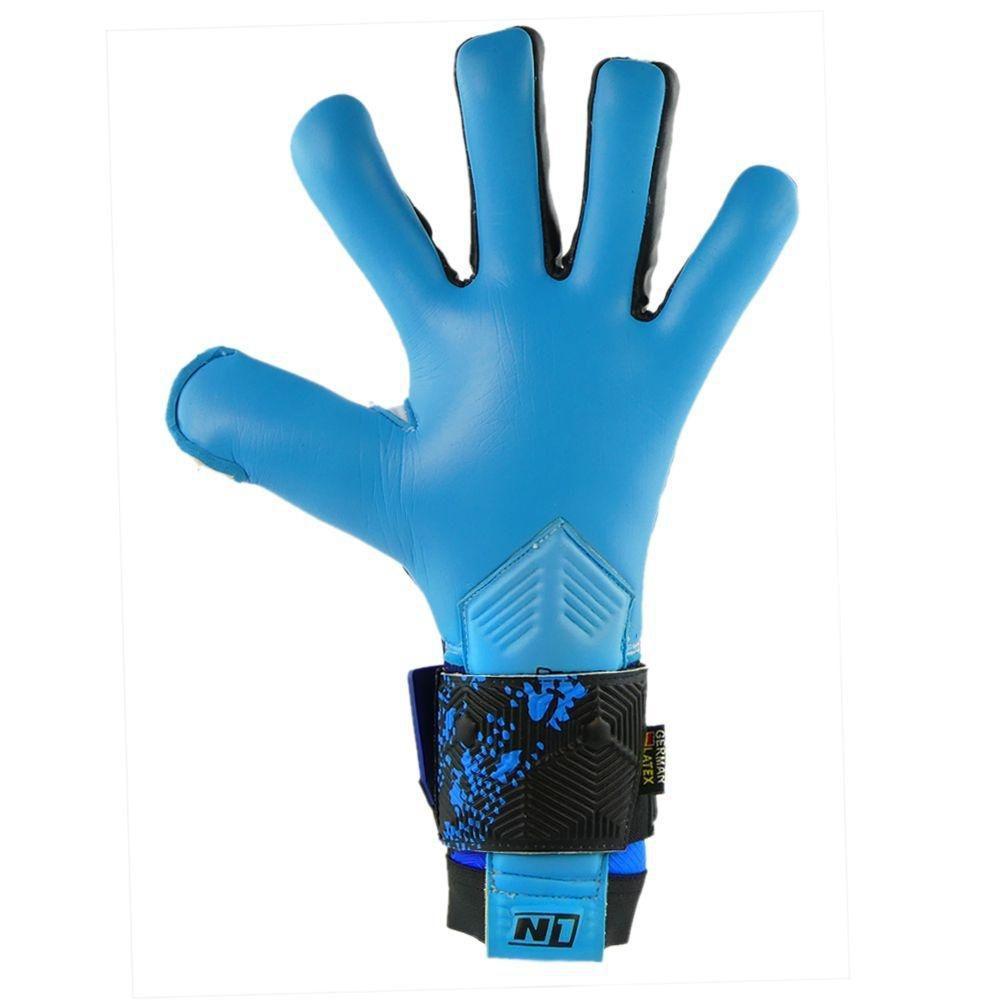 Luva de Goleiro Profissional N1 Zeus Blue
