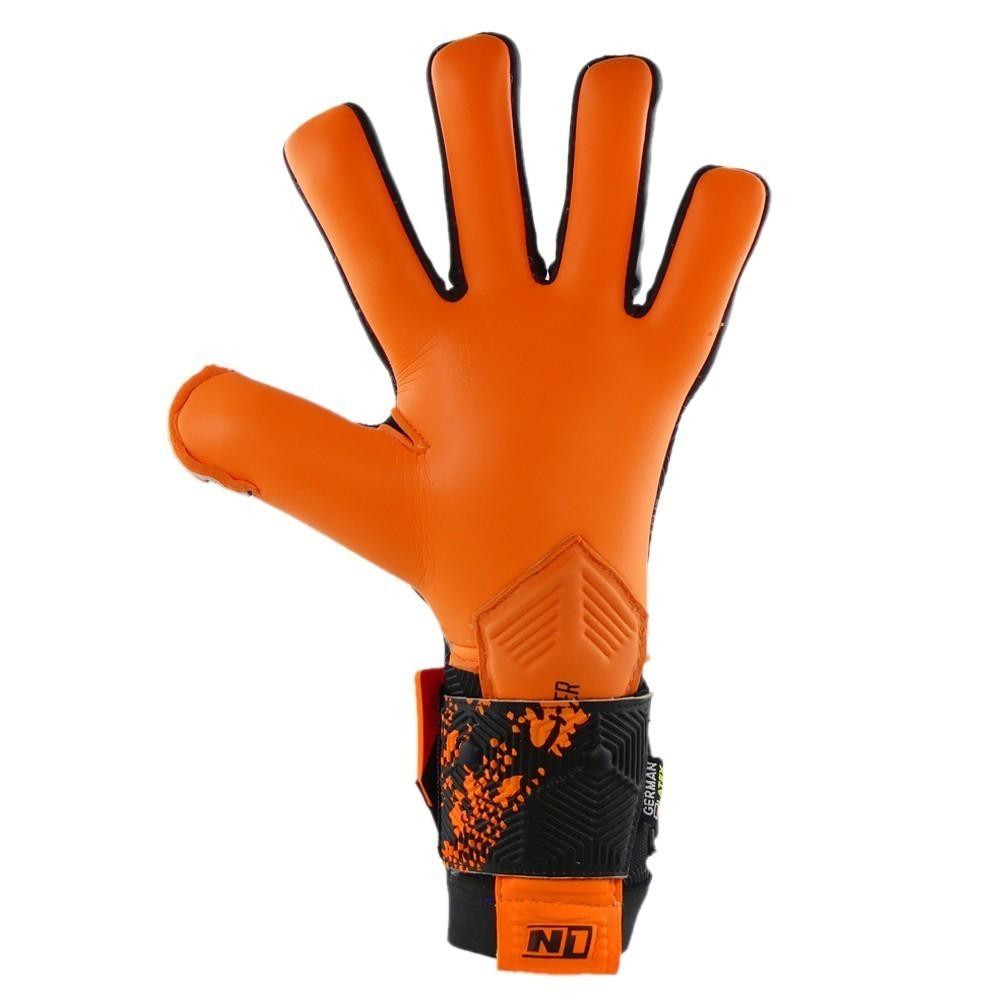 Luva de Goleiro Profissional N1 Zeus Orange
