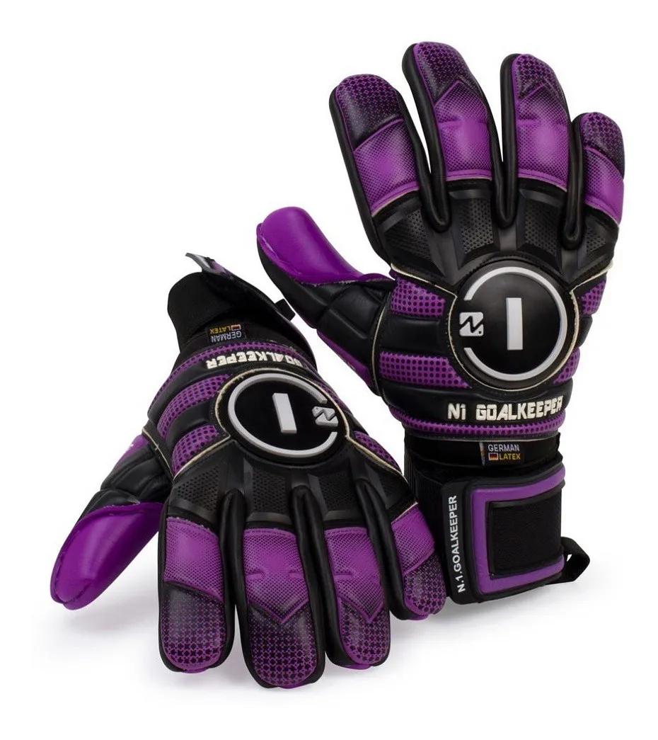 Luva Goleiro N1 Goalkeeper Horus elite Purple