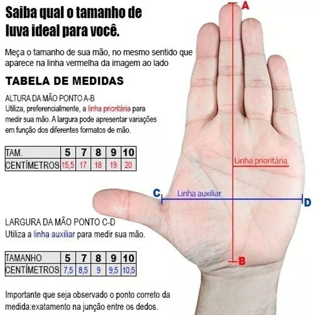 LUVA GOLEIRO POKER DEEP 7 TRAINING INFANTIL