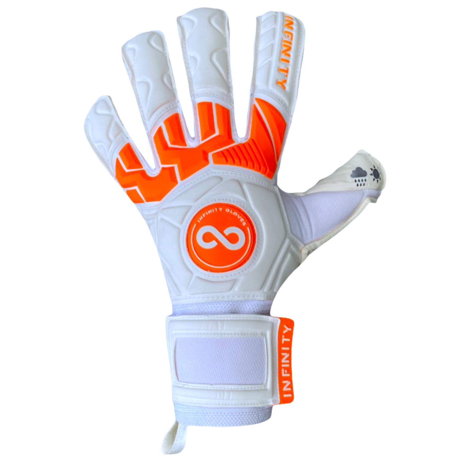 Luva Goleiro Profissional Infinity Pro Max Orange