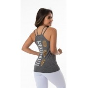 Camiseta Fitness Cinza No Days