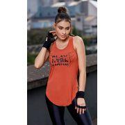 Camiseta Fitness Play hard