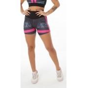 Short Fitness Sublimado Marmorizado
