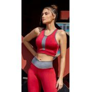 Top Fitness Red Metal