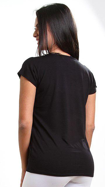 Blusa fitness Black