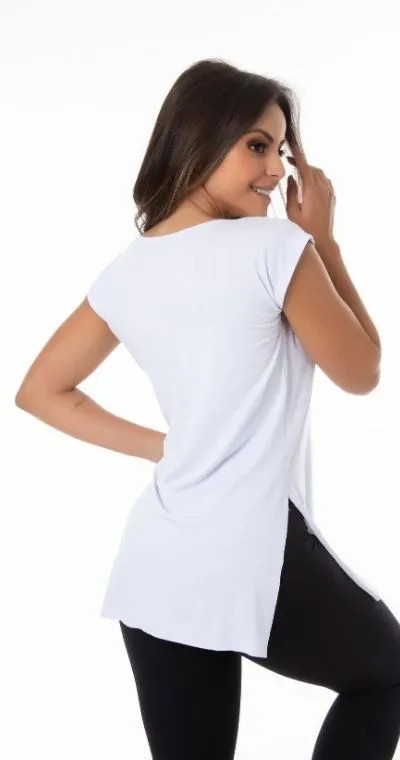 Blusa Vest Leg Inspire Branco