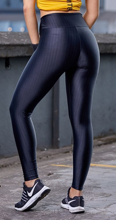 Calça Fitness Ikat Black
