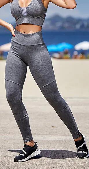 Calça Legging Change Mescla