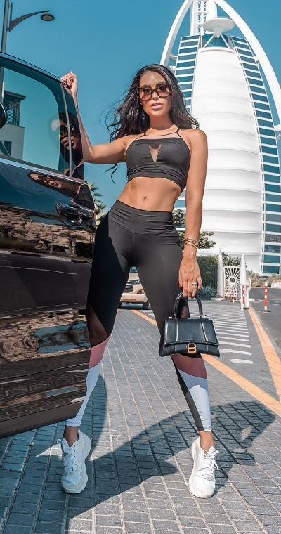 Calça Legging Fitness Dubai