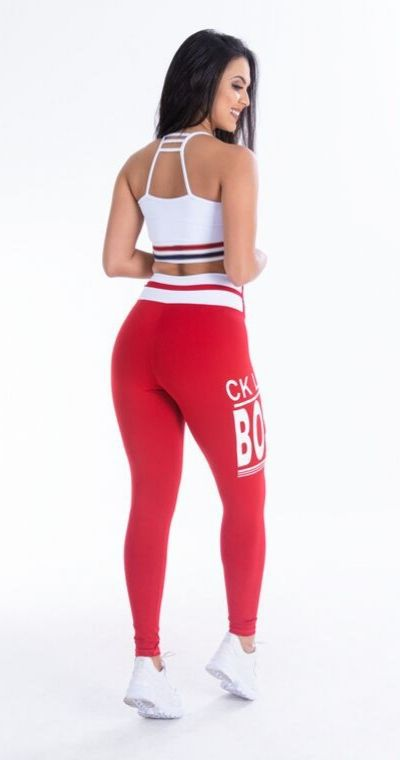 Calça Legging Poliamida RED BOSS