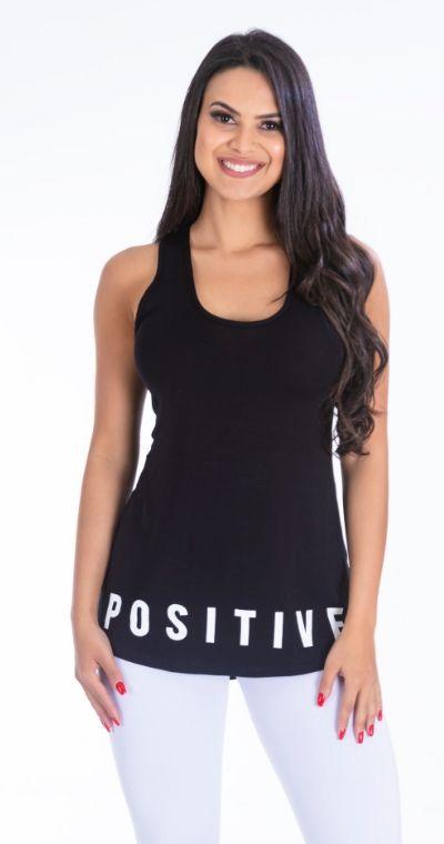 Camiseta Fitness Positive