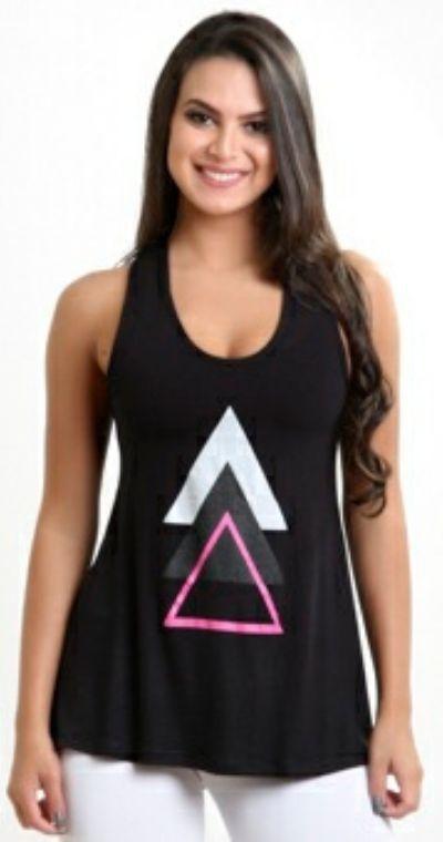 Camiseta Fitness Triângulo