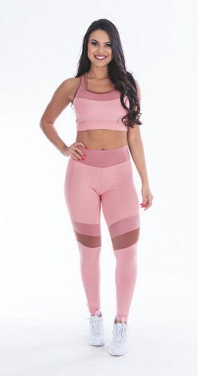 Top Fitness Bruna  Rosê