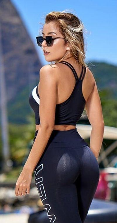 Top Fitness Clickmoda Black