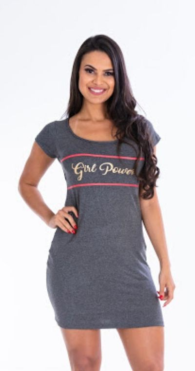 Vestido Girl Power Mescla