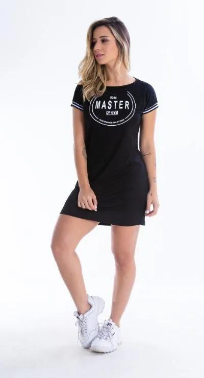 Vestido preto Master Gym