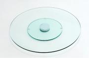 Prato giratório 60 em Vidro Incolor Temperado - Aquabox