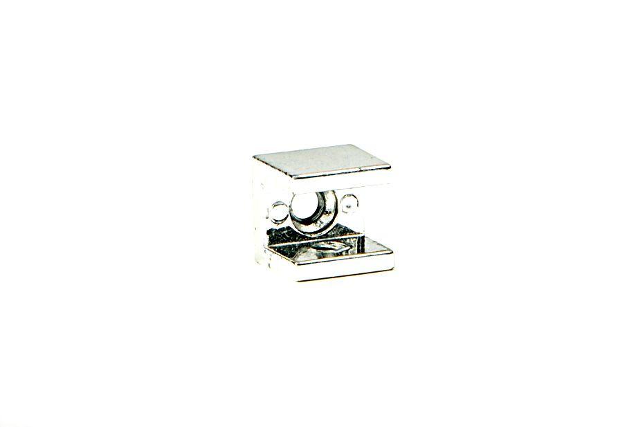 Suporte para Prateleira de Vidro Fenda Quadrado 10mm - Aquabox
