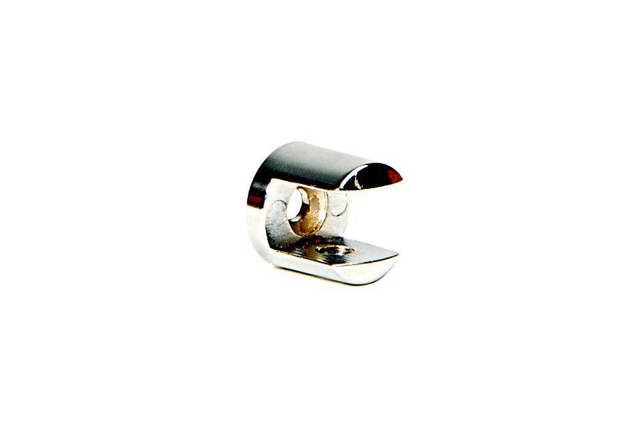 Suporte para Prateleira de Vidro Fenda Redondo 10mm - Aquabox