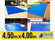 CAPA PARA PISCINA DE MEDIDA 4,50M X 4,00M - BRASIL CAPAS