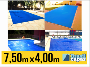 CAPA PARA PISCINA DE MEDIDA 7,50M X 4,00M - BRASIL CAPAS