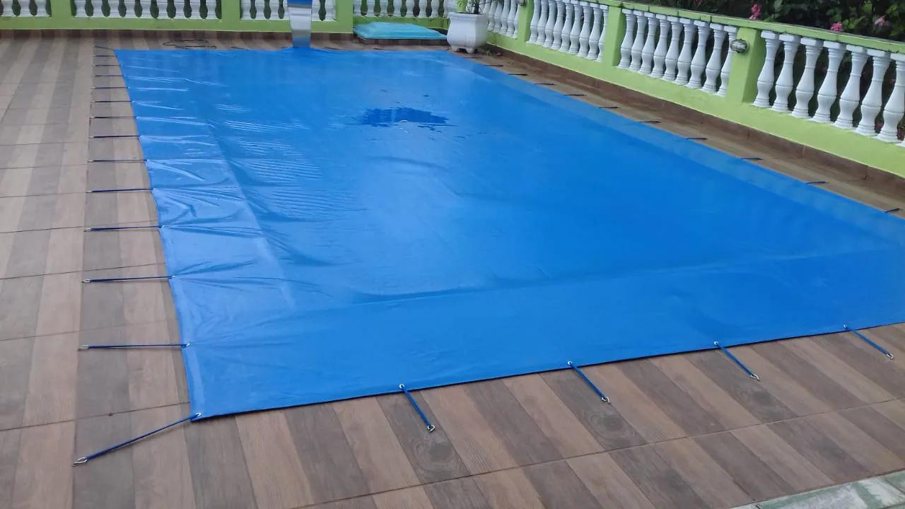 capa de proteção 5,50 x 2,50 com o recorte da cascata