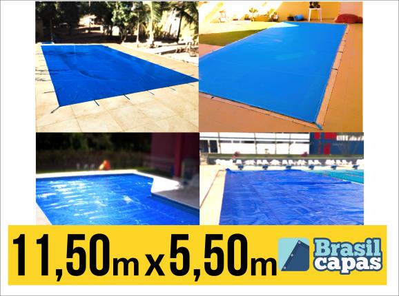 Capa Para Piscina De Medida 11,50M X 5,50M - Brasil Capas