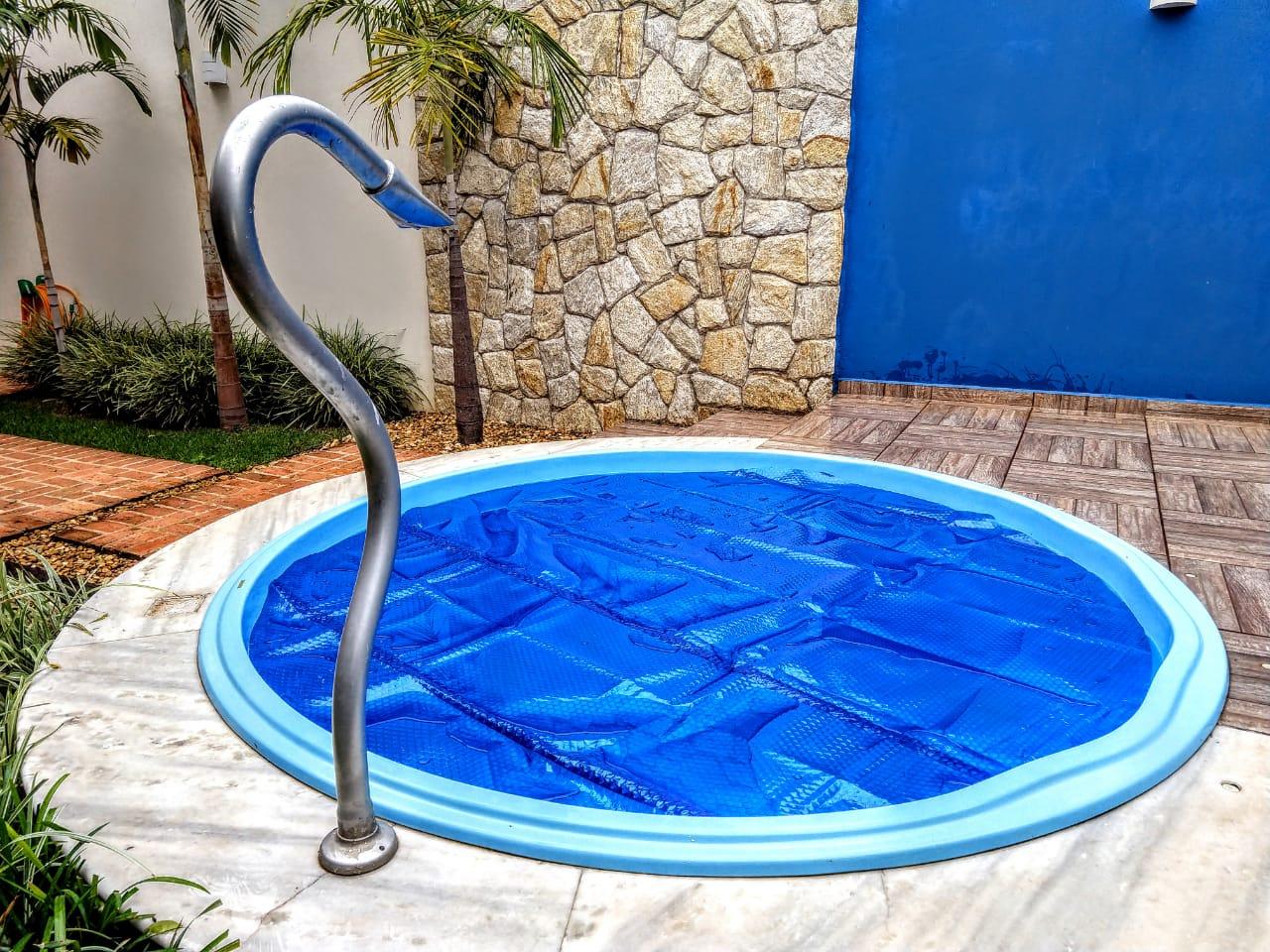 Capa Termica Bolha  4,50 X 2,50M - Brasil Capas (300 Micras)