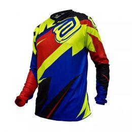 Camisa ASW Image Race 17 - Vermelha/Azul