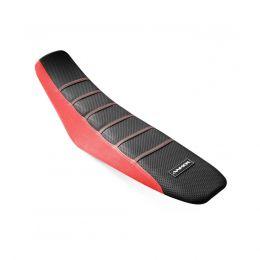 Capa de Banco Elegance Honda CRF230/CR150F Preta/Vermelha - Anker